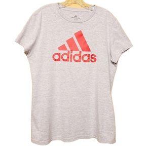Adidas Women's Short Sleeve Go-To Tee Shirt (XL)